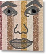 Face It Metal Print