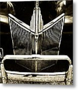 Face Of A Ford Metal Print