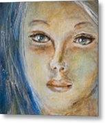 Face Of An Angel Metal Print