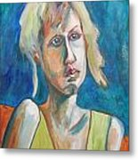 Face Of Tragedy Metal Print