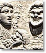 Faces Of Pompeii Metal Print