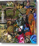 Faces Of The Goddess Metal Print