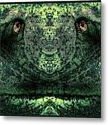 Faces Of Trees 100 Metal Print