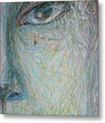Faces - Right Close Metal Print