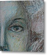 Faces - Right Metal Print