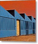 Factory Building Metal Print