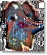Faded Memory Metal Print