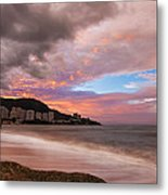 Fading Into The Clouds Metal Print