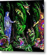 Faery Forest Metal Print