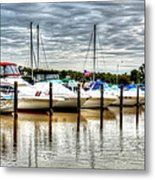 Fah Get A Boat It Metal Print