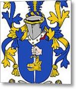 Fahey Coat Of Arms Irish Metal Print