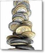 Failing Economies Metal Print by Allan Swart