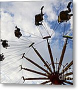 Fairground Fun 3 Metal Print