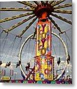 Fairground Fun 4 Metal Print
