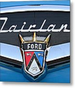 Fairlane Name Plate Metal Print