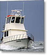 Fairwater II - Parting Waves In The Gulf Of Mexico Metal Print