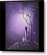 Fairy Art By Shawna Erback Metal Print by Shawna Erback