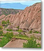 Fairy Chimneys In The Making In Cappadocia-turkey Metal Print