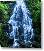 Fairy Falls Oregon Metal Print