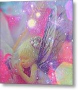 Fairy In Fairy Dust Metal Print