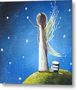 Fairy Maker By Shawna Erback Metal Print by Shawna Erback
