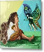 Fairy Mother Metal Print
