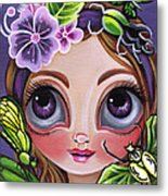 Fairy Of The Insects Metal Print