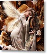 Fairy Of The Key Metal Print