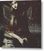 Fairy The Rest Metal Print
