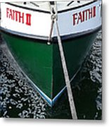 Faith II Fishing Boat Metal Print