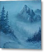 Faith Moves Mountains Metal Print