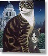 Faith, The St. Paul's Cat Metal Print