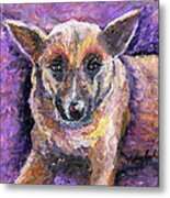 Faithful Friend Metal Print