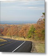 Fall Along The Country Highway 2 Metal Print