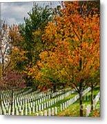 Fall Arlington National Cemetery  Metal Print