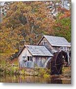 Fall At Mabry Mill Metal Print