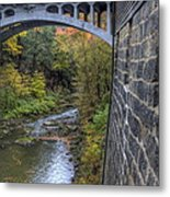 Fall At Mill Creek Park Metal Print