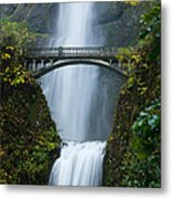 Fall At Multnomah Falls Metal Print