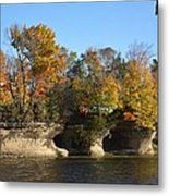 Fall At Seven Pillars Metal Print