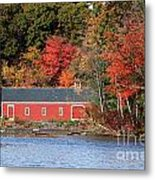 Fall At The Mill Metal Print