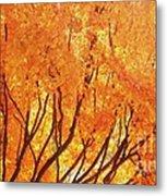 Fall At The Shore Metal Print