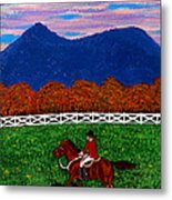 Fall Back Metal Print