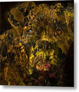 Fall Boxer Metal Print by Judy Wood