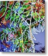 Fall Color Collage Metal Print