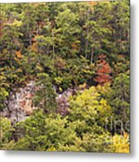 Fall Color In Little River Canyon Metal Print