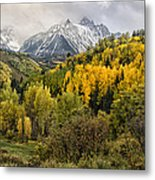 Fall Color In The Rockies Near Ouray Dsc07913 Metal Print