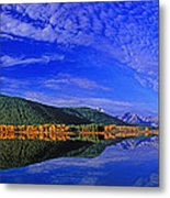 Fall Color Oxbow Bend Grand Tetons National Park Wyoming Metal Print