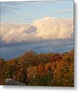 Fall Colors In New England Metal Print