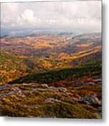 Fall Colors Of Acadia 6656 Metal Print