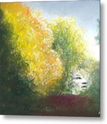 Fall Created Metal Print